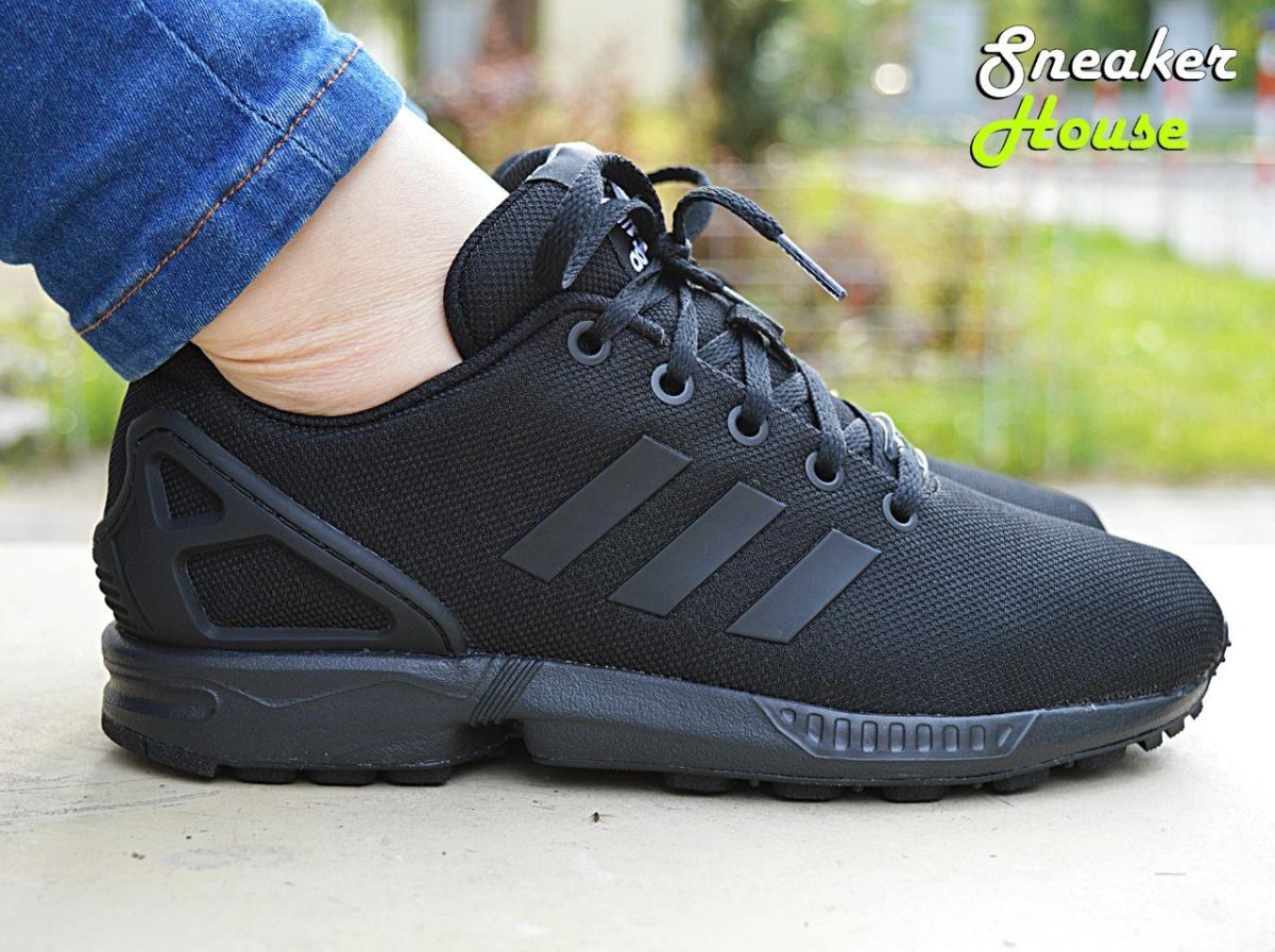 Best Sales Adidas ZX Flux Größe 38 23 schwarz mit weißen